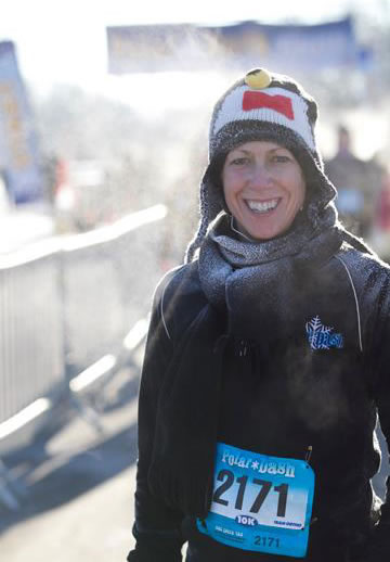 After completing the 2013 Polar Dash