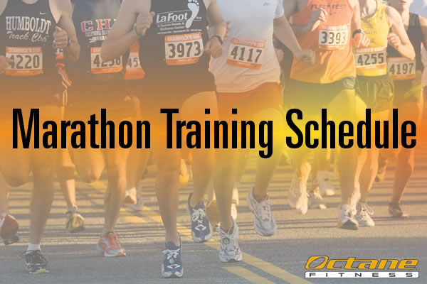 16 week marathon training schedule