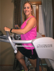 Hayley at home on her Zero Runner