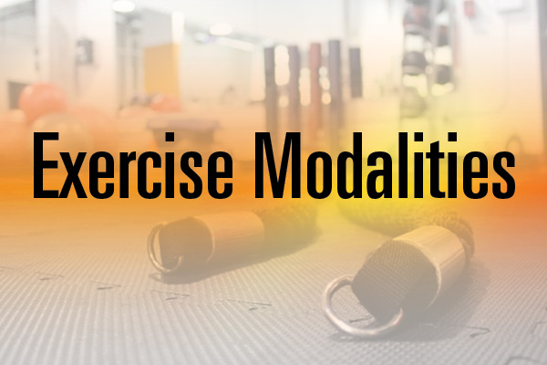 exercise modalities