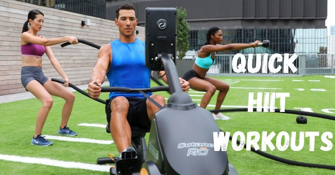 Quick HIIT Workouts